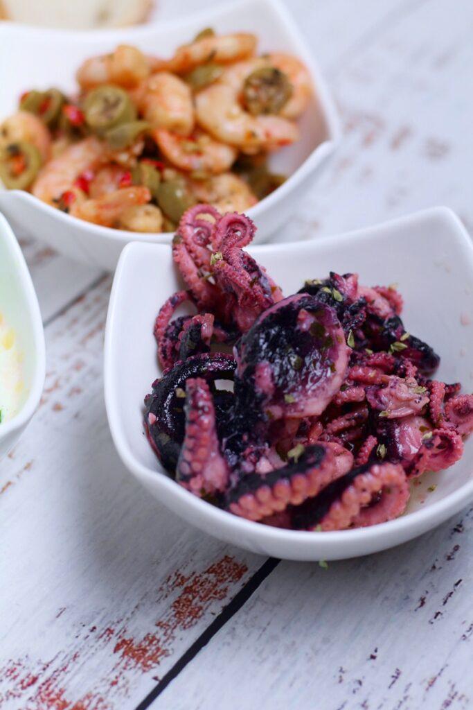 Octopus Meze