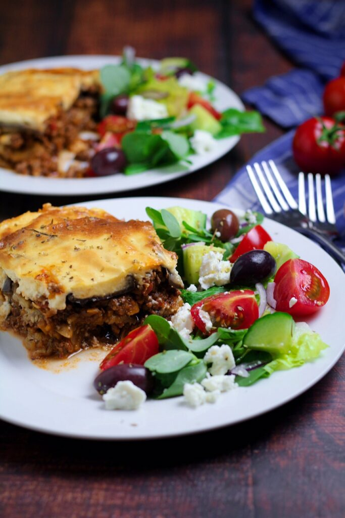 Moussaka Greek Eggplant Casserole