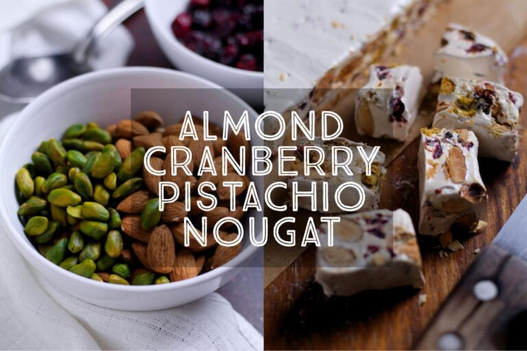 Sweet, crunchy and incredibly moreish, it is easier than you think to make homemade nougat. This recipe has no glucose or corn syrup and can be made with ordinary household ingredients. Perfect for Christmas gifts!
