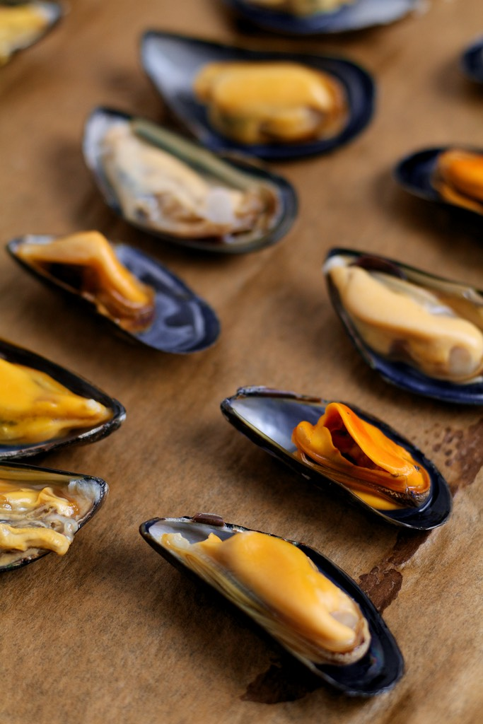 Garlic Butter Mussels au gratin or as the Italians call them Cozze al Forno are a fantastic starter or light meal for two. So quick and easy to prepare they are packed with Mediterranean flavour.