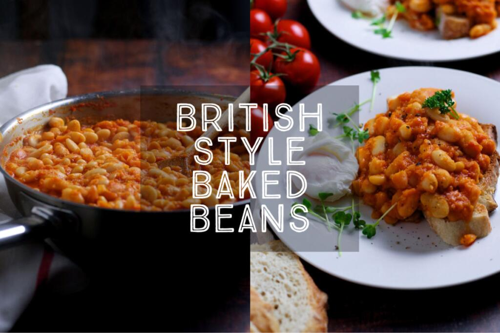 So much better than beans from a tin, Homemade British Style Baked Beans are rich and tomatoey - perfect for a weekend brunch. Make up a big batch when you have time and you can have your breakfast or brunch ready in a flash.
