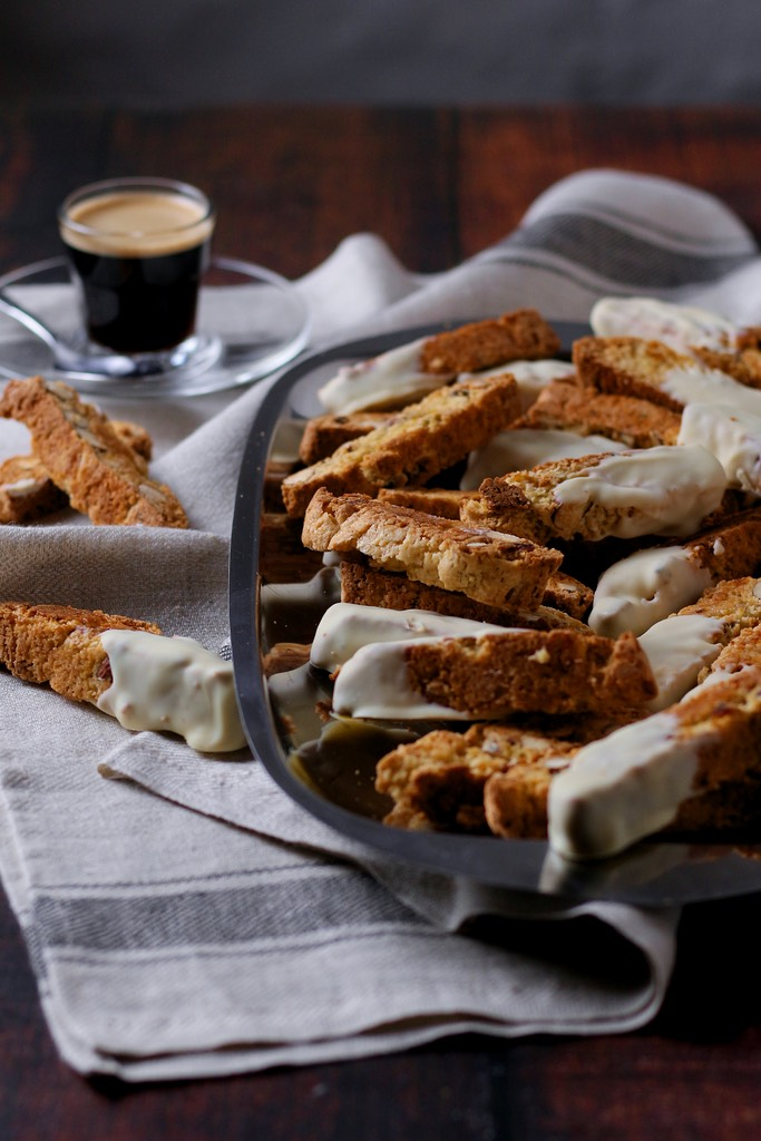 Often known in the English speaking world as 'biscotti', Cantucci are a deliciously crunchy Italian treat. My recipe for Almond and Apricot Cantucci is so easy and perfect for the festive season. Serve with a strong espresso or a glass of Italian vin santo.